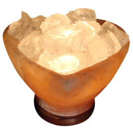 Heart Bowl Salt Lamp