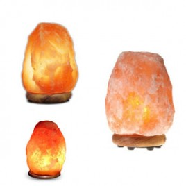 3X Natural Salt Lamps (2-4Kg,4-6Kg,8-10Kg)