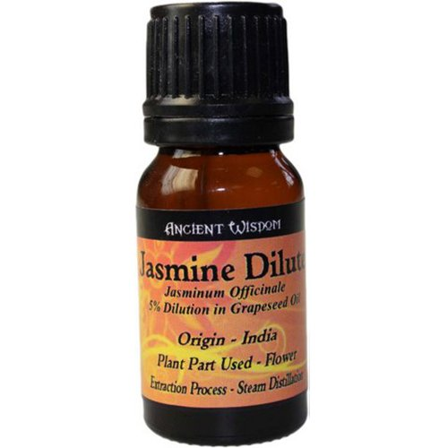 Jasmine Dilute Essential Oil 10ml - Himalayan Salt Lamps Buy 100% Himalayan Salt