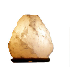 Himalayan Salt Lamp 2-4 Kg (Light Glow)