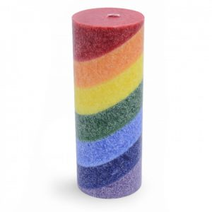 Rainbow Chakra Candle - Unscented (Large)